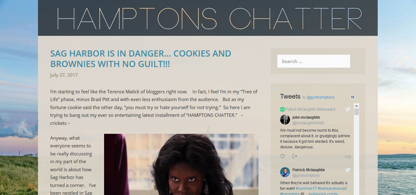 Hamptons Chatter