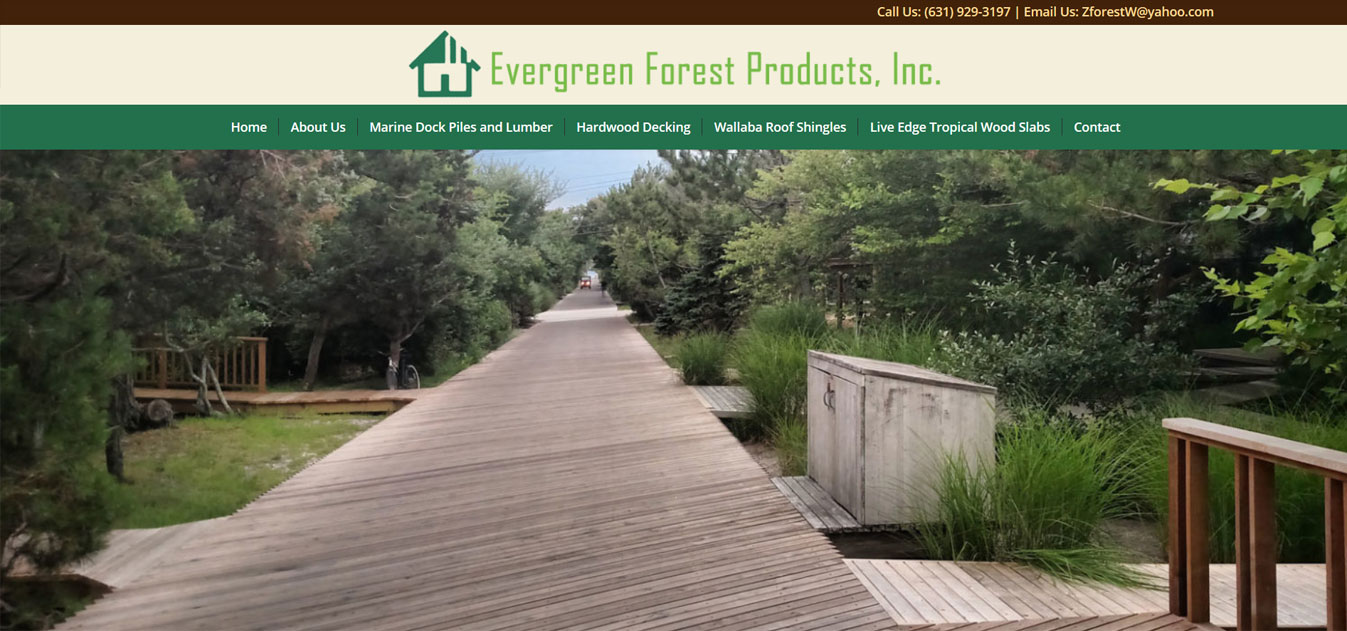 Evergreen Forest Products, Inc