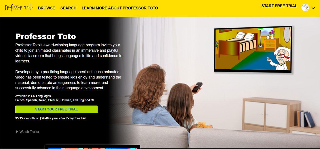 Professor Toto Streaming